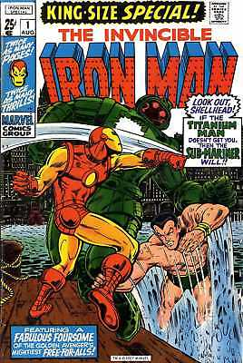 Iron Man  Comics  Dvd Rom Collection /1968 -2012 / Over 500 Issues