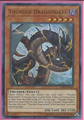SOFU-EN019 THUNDER DRAGONDARK – Ultra Rare - Unlimited Edition, GET YOURS 1ST!