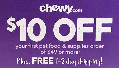 ➡️ FASTEST CODE! CHEWY—$15 OFF First Order of $49—chewy.com—Exp. 4/30/20