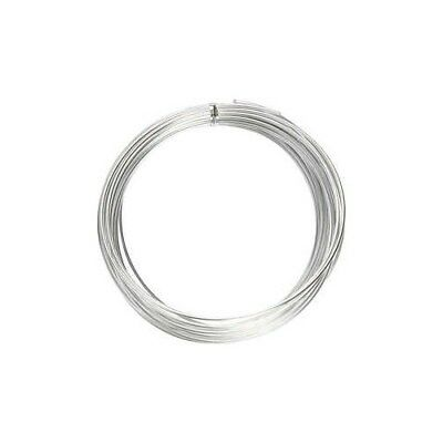 Aluminium Wire, thickness 2 mm, silver, round, 10m [HOB-518325]