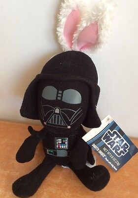 Star Wars Plush Darth Vader Bunny Ears 2012 Limited Edition Stuffed Animal 8""