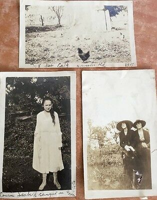 old Vintage Photo photographs Vintage 1917 Collections Farm Outfits Era