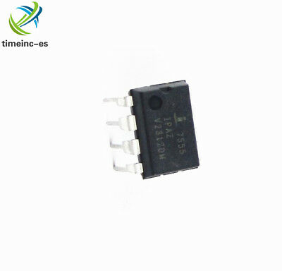 5Pcs New Icm7555Ipa Dip8 Ic Osc Mono Timing 1Mhz New