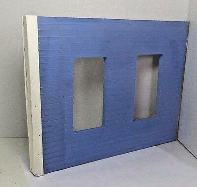 Dollhouse Miniature Exterior Wall Milled Clapboard for Room Box DIY