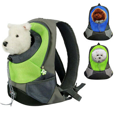 Portable Pet Dog Carrier Backpack Adjustable Breathable Shoulder Bag Outdoor