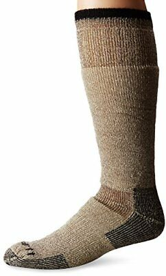 Mens Arctic High Wool Thermal Boot Socks for Cold Weather Fast Dry Odor Control