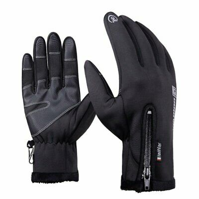 Touch Screen Thermal Gloves Neoprene Windproof Waterproof Sports Mittens Winter