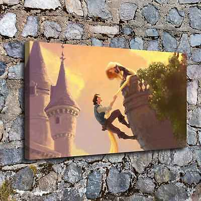 """Tangled poster HD Canvas prints 16""""x28"""" Home Decor Painting Wall art Picture"""