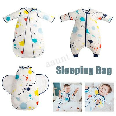 Newborn Baby Infant Snuggle Swaddling Tog Warm Sleeping Bag Pajamas Sleepsacks