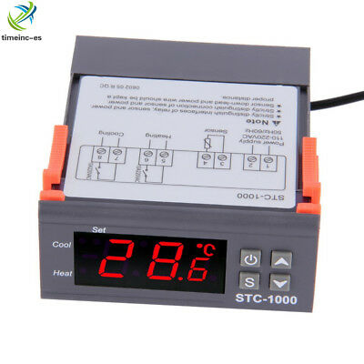 STC-1000 All-Purpose Digital Temperature Control Controller Sensor AC DC 24V