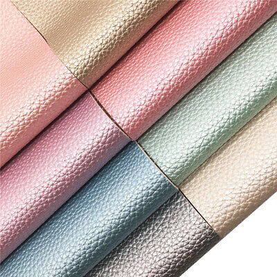 Pearly Grain Metallic Faux Leather Vinyl Fabric Auto Upholstery Marine Material