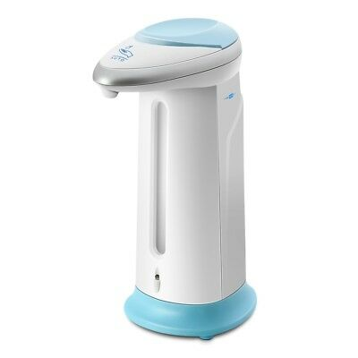 400ml Battery Powered Automatic Touchless Soap & Sanitizer Dispenser IR Sensor