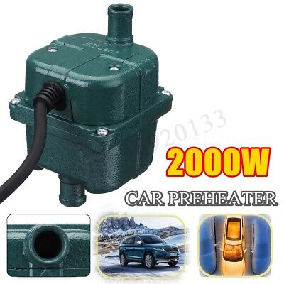 Car Engine Heater Parking Coolant Preheater 220V 1Kw 1000W 70°C Fits All Cars