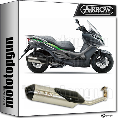 Arrow Full System Exhaust Homologated Reflex 2 Nichrom Kawasaki J 300 2014 14
