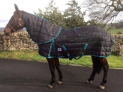 Heavy Weight Stable Rug Detachable Neck Horse 300g Winter 5ft 9 to 7ft UK SELLER