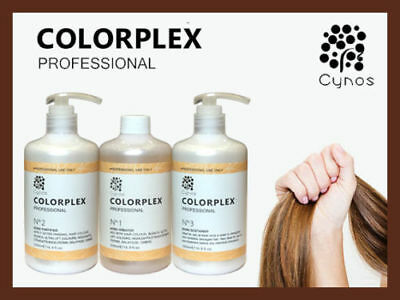 COLORPLEX 3x500ml, No.1+ No.2 + No.3 Bond Multiplier Hair Perfector