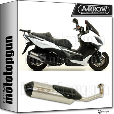 Arrow Full System Exhaust Homologated Reflex 2 Kymco Xciting 400 I 2014 14