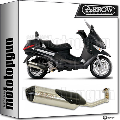 Arrow Full System Exhaust Homologated Reflex 2 Piaggio X9 250 Evolution 2004 04