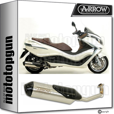 Arrow Full System Exhaust Homologated Reflex 2 Piaggio X10 350 Ie 2016 16