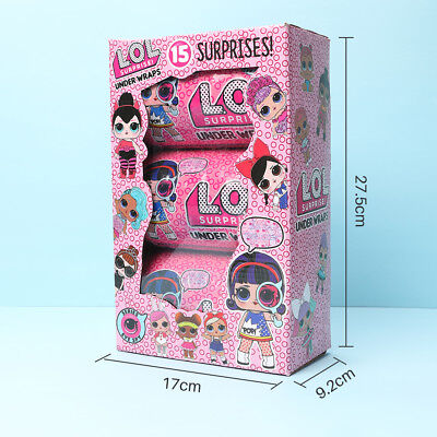 2018 Lol Surprise Ball Series Doll Light Baby Girl Kids Play Xmas Gift Toy