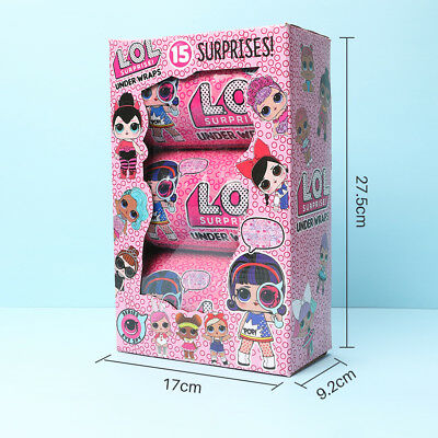 Lol Surprise Ball Series Doll Light Baby Girl Kids Play Toy L.O.L. 15 SURPRISES