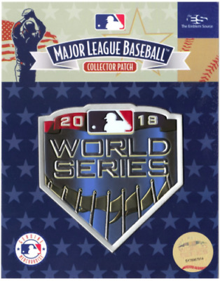 2018 World Series Official Licensed MLB Patch LA Dodgers vs Boston Red Sox