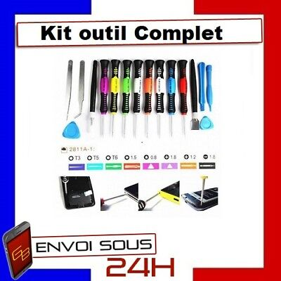 Kit Outils Tournevis Iphone 4 5 6 7 Ipad Ipod Samsung Wiko Reparation Telephone