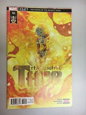 Marvel Comics - The Mighty Thor #705 (2018) - BN - Bagged and Boarded