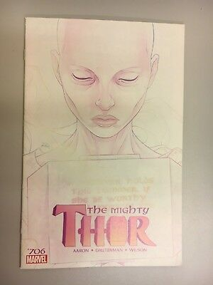 Marvel Comics - The Mighty Thor #706 (2018) - BN - Bagged and Boarded