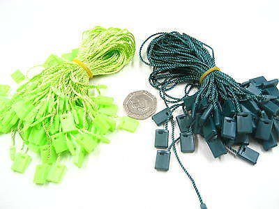 quality Tag hang tag String Lock Fastener Labeling Tagging Supplies square end
