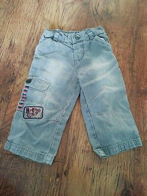 Baby Boy 12-18 Months Mothercare Humphreys Corner Grey Jeans Trousers