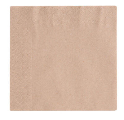 Recycled Paper Napkins 33cm x 33cm 2ply Soft & Strong x 125/250/500 Eco Friendly
