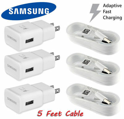 OEM Original Samsung Galaxy S6 S7 Edge Note 4 Note 5 Adaptive Fast Rapid Charger