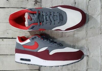 air max 1 university red cool grey
