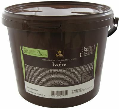Cacao Barry Pate a Glacer Ivoire 5 Kg