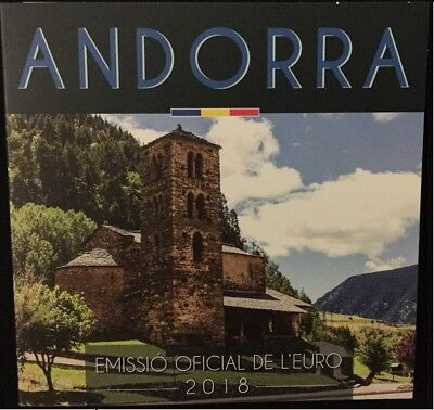 Andorra 2018 Euro set BU FDC 1 cent tot 2 euro - In stock!