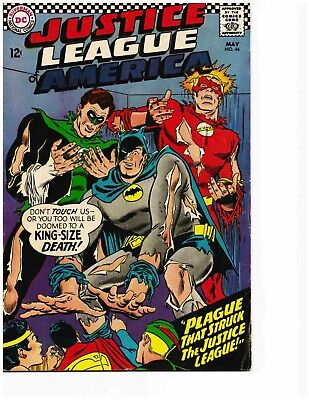 JUSTICE LEAGUE OF AMERICA #44 (May 1966) Very Good