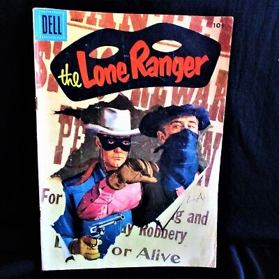 """""""The Lone Ranger """" #98 Vintage Comic Book (1956, Dell))"""