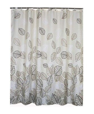 Welwo Shower Curtain Extra Long 72 X 78 Inches With Hooks Set Mildew Resistant