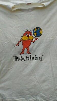 I have sighted the enemy...its US size xl  tshirt rare vintage grateful dead lot