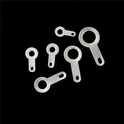 100Pcs M2.2-M6.2 Silver-plated Copper Single Heads Soldering Terminals  Weldings