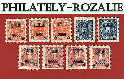 Ukraine  stamps 1923, the stamps  is overprinted with Y.P.P.