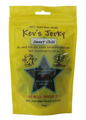 Beef Jerky Sweet Chilli 100g