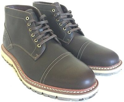 cb40e71d4b11 Timberland Earthkeepers Britton Hill 49 Size 14 Mens Leather Chukka Boots  5448A