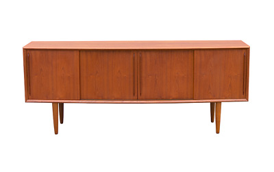 Danish Teak Sideboard Design Arne Vodder For Hp Hansen 60s 70s
