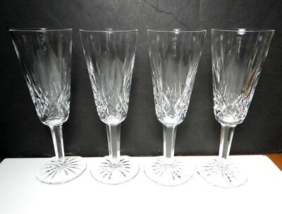 Waterford Crystal LISMORE Champagne Flutes, Sets of 4