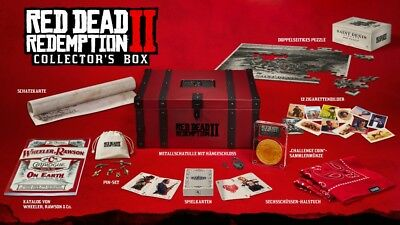 Red Dead Redemption 2 Collectors Edition Box ! PS4 Xbox One *NEU OVP*