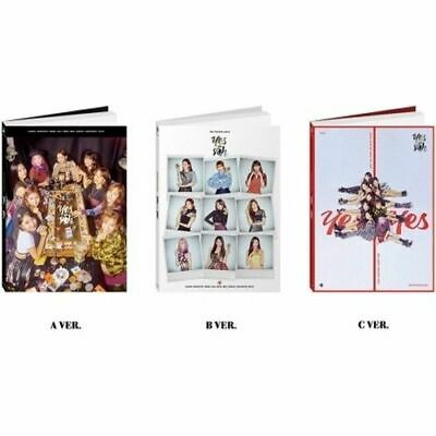 TWICE[YES Or Yes]6th Mini Random CD+Book+Card+PreOrder+Gift+Tracking