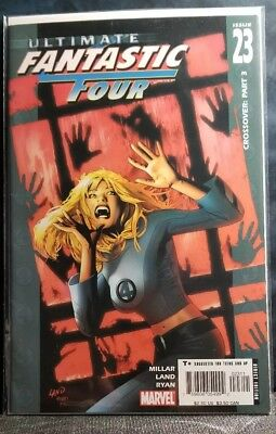 Ultimate Fantastic Four #23 Classic Cover Art