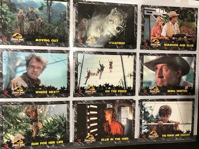 Jurassic Park 1993 90s Dynamic Marketing Large Collector Card Lot -6